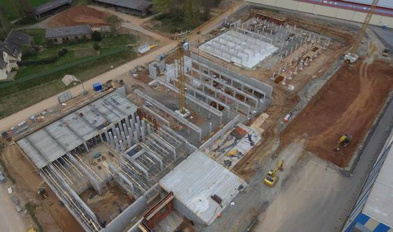 Neubau einer Produktionsanlage zur Glasherstellung